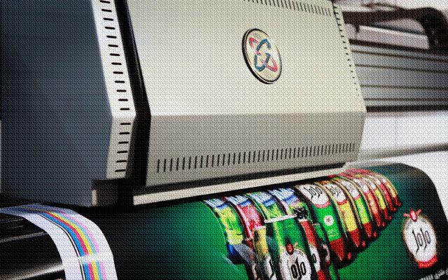 vinyl printing - چاپ وینیل - چاپ استیکر صنعتی
